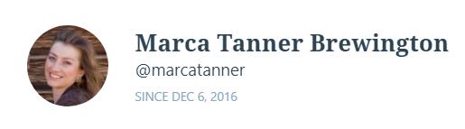 MARCA TANNER BREWINGTON
