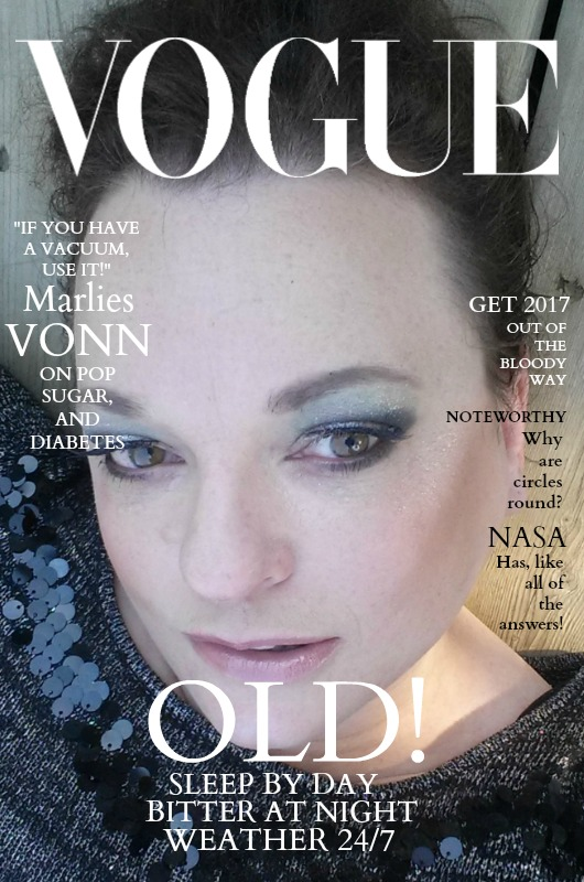 VOGUE COVER WHITE TEXT WITH PIC