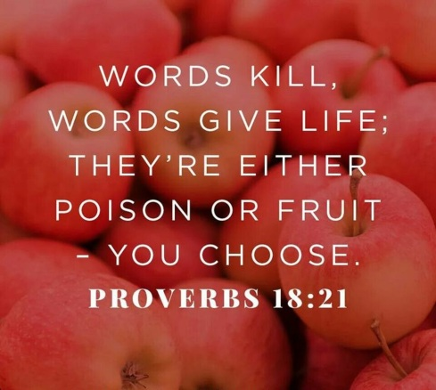 Image result for Proverbs 18 21